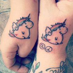 30 Inspiring and Beautiful Mother Daughter Tattoos - Part 5