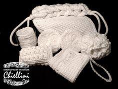 Crochet Spa Set Washcloth by TheArtisanChiellini on Etsy