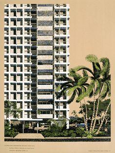 design, poster, illustration, tropical, palm tree,