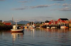 Vega, Norway.  This is where my family is from!