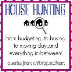 8 Things to Think About Before You Start House Hunting - House Buying - Factors affect Home buying process - Very thorough and helpful series on house hunting tips on things to do before you start during the process staging tips and moving tips. Moving Day, Moving Tips, Moving House, Real Estate Buyers, Real Estate Tips, Things To Know, Things To Think About, Things To Sell, Hunting Tips