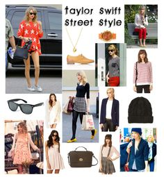 Taking it to the streets with #TaylorSwift #StreetStyle