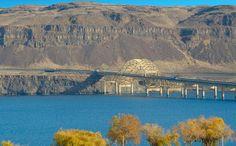 Bridge over the Columbia River at Vantage WA
