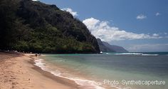 Ke'e Beach - family beach in Kauai, good for snorkeling