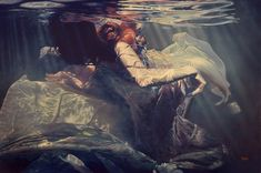 """Resurrection 40"""" X 60"""" oil on canvas (Available)  This is a life-sized rendition, based on """"Resurrection, study,"""" an earlier work in the Sirens series.  The story point ... A fable among the creatures of Mer, handed down through the generations, tells the tale of the birth of their kind. Persephone was granted the power of resurrection, in recognition of her love and sacrifice."""