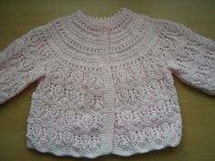 Ravelry: Matinee Jacket & Dress with Hat, Mittens and Booties pattern by Patons