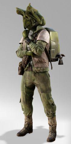 Endor Rebel Trooper