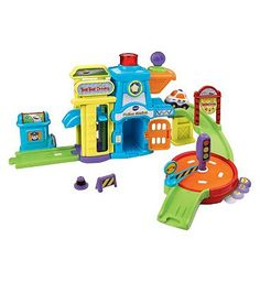 Vtech Toot Toot Drivers Police Station 10169925 120 Advantage card points. Welcome to the Toot-Toot Drivers Police Station from VTech, where playtime has miles of learning! Hear fun sound effects and melodies as you imaginatively play. FREE Deliver http://www.MightGet.com/april-2017-1/vtech-toot-toot-drivers-police-station-10169925.asp
