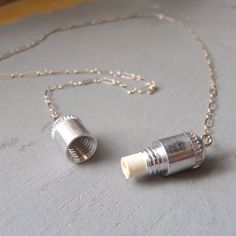 the Note & Capsule necklace -  best friends, anniversary, paper anniversary, going away gift, secret note, secret message. $28.00, via Etsy.