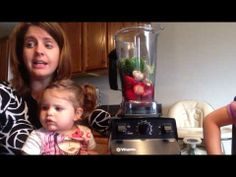 ▶ Strawberry Basil Lemonade Smoothie in a Vitamix - YouTube #vitamix #smoothie #strawberry #basil