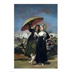The Letter Canvas Art - Francisco De Goya (18 x 24)