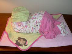 Spring Girl Sleeping Baby Diaper Cake by erinjhazen on Etsy