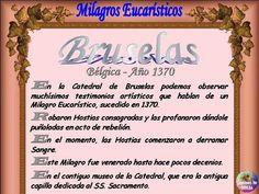 Leamos la BIBLIA: Milagros Eucaristicos 22-08-2014