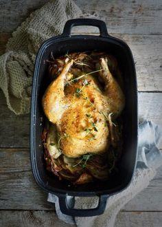 One pot wonder - lettvint gryterett - Mat På Bordet Eggplant Lasagna, One Pot Wonders, Crockpot, Potato, Nest, Bacon, Pork, Food And Drink, Turkey
