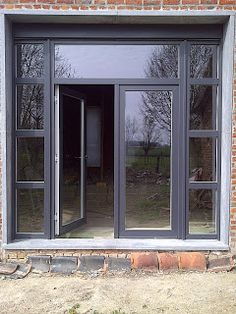 Baie Vitr 233 E Alu Fa 231 On Atelier Porte Garage Pinterest