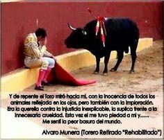 No a las corridas de toros!!!!