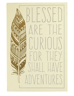 Blessed Are The Curious Wooden Box SIgn | Inspirational Gift For Grad, Gift for Teen Girl, Words of Wisdom Wall Quote Decor | Catching Fireflies