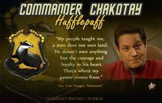 Starfleet-Houses» Commander Chakotay