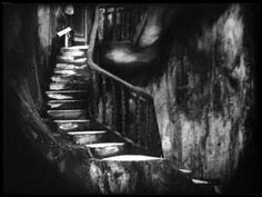 """Still from """"Die Hintertrippe"""" (German for Backstairs). It was a 1921 silent film and the first movie by German director Leopold Jessner, in cooperation with Paul Leni."""