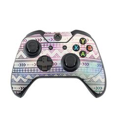 DecalGirl Microsoft Xbox One Controller skins feature vibrant full-color artwork that helps protect the Microsoft Xbox One Controller from minor scratches and abuse without adding any bulk or interfering with the device's operation.   This skin features the artwork Bohemian by Brooke Boothe - just one of hundreds of designs by dozens of talented artists from around the world.