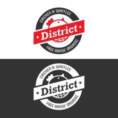 District Chicken & Waffles on Behance