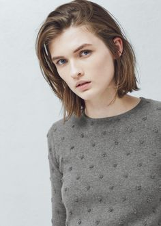 Pull-over ornements coton