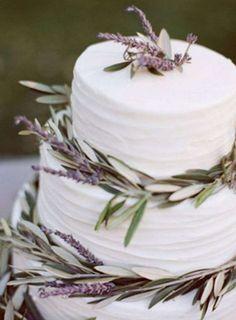 Adornos florales para boda: fotos ideas con lavanda  (19/38) | Ellahoy