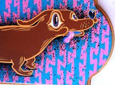 Wiener Dog Mc Daschound by tripperdungan on Etsy
