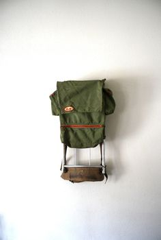 vintage hiking pack