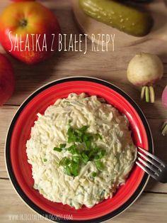 Sałatka z białej rzepy – kuchnia podkarpacka