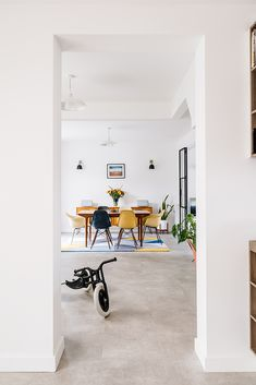 Mid-century themed renovation in Wanstead. We joined up 2 houses into a single dwelling and remodelled the internal layout. Planning Permission, New Builds, Mid Century, Lounge, Layout, Houses, Architecture, Building, Home Decor