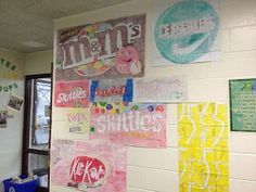 Great Math Project! From Fast Times of a Middle School Math Teacher: Scaling Up Candy Wrappers. Check out her blog!
