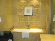 Awesome Bathroom Highlighter Tiles Design  Home Design