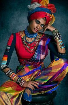"""my-world-of-colour:"""" Tarun Tahiliani turban India"""" Tarun Tahiliani, Ethnic Fashion, African Fashion, Indian Fashion, Womens Fashion, African Style, Colorful Fashion, Black Is Beautiful, Beautiful People"""