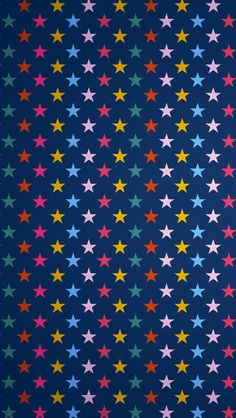 Stars colorful background #iPhone #5s #Wallpaper