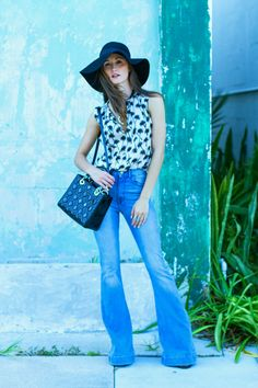 FLIRTY FLARES: Why this denim trend isn't going away. #style #outfit #flares