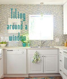Kitchen Backsplash Around Window subway kitchen backsplash around window - google search   kitchen