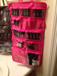 Thirty-One Uptown Jewelry Bag used for essential oils storage and easy transport. This item is retiring! Thirty One Uses, Thirty One Gifts, Essential Oil Storage, Essential Oil Uses, Yl Oils, Doterra Essential Oils, Young Living Oils, Young Living Essential Oils, 31 Gifts
