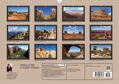Hiking on the Colorado Plateau, Calendar Sheet: Index