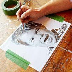 How to Paint Pop Art Portraits - Better Homes & Gardens - BHG.com