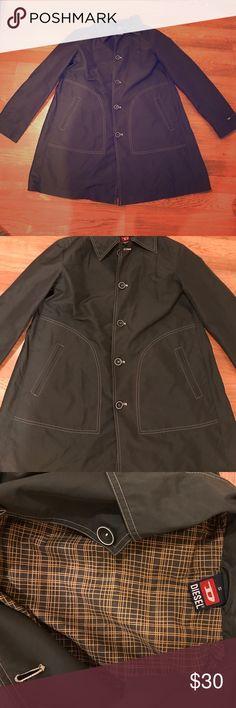 Grey Diesel jacket Diesel rain jacket ☔️ Diesel Jackets & Coats