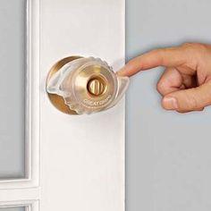 Make it easier for someone with arthritis open the door–no gripping needed with Great Grips. #Arthritis_Support #Door_Knob_Opener