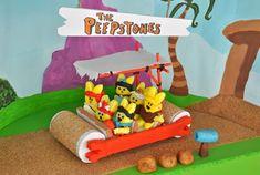 The Peepstones - peeps - peeps dioramas  - peep parody - flinstones #peeps