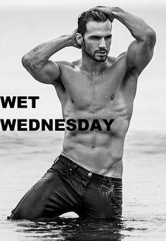 b358ed244d8d5e2fac9127635c9eaf93 water jpg (341×499) wet wednesday pinterest sexy men and eye