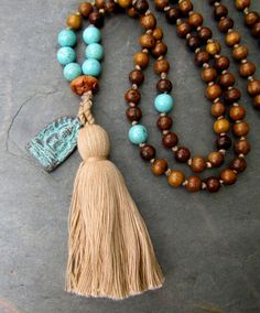 Hand Knotted Mala Necklace