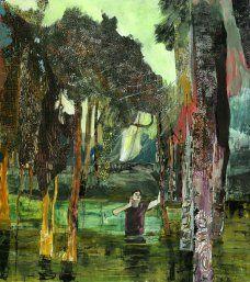 "Hernan Bas ""A boy in a bog"" 2010"