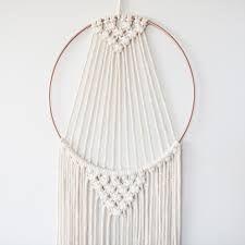 Image result for macrame on a hoop