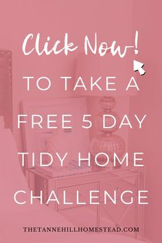 Are you tired of coming home to a cluttered home? If so, let's change that with this FREE 5 day tidy home challenge! #tidyhome #tidyhomechallenge #declutter #decluttering #organization #organized #organizedhome Minimalist Living, Home Hacks, Decluttering, Home Organization, Tired, Minimalism, Challenges, Change, Motivation