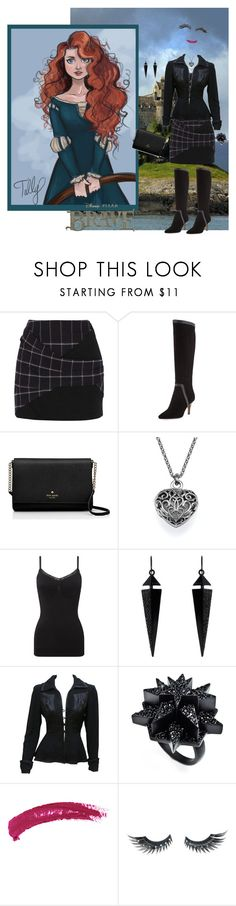 """Merida Celebrates Samhain"" by krusie ❤ liked on Polyvore featuring Thakoon Addition, Donald J Pliner, Merida, Phase Eight, Oasis, Ossie Clark, Eddie Borgo, Topshop, Napoleon Perdis and Disney"