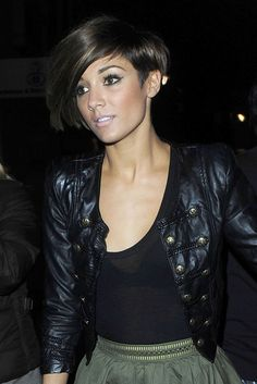 Ugh. i've been dying to cut my hair short like Frankie Sanford, but no one will let me.